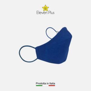 Mascherina per bambino idrorepellente, lavabile e riutilizzabile colore bluette