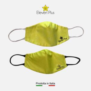 Mascherine idrorepellenti, lavabili e riutilizzabili colore giallo fluo