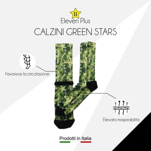 Calazini green stars