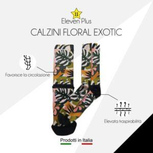 Calazini floral exotic