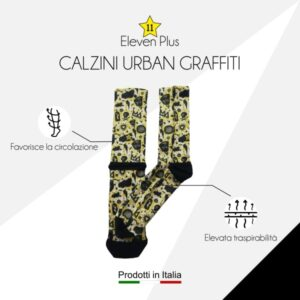 Calazini urban graffiti