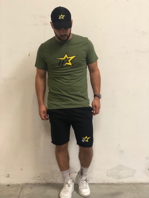 T-Shirt ElevenPlus verde militare